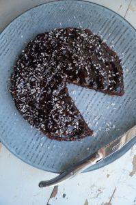 Chokoladekage uden sukker og mel