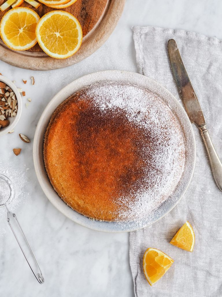 nem opskrift på Marokkansk appelsinkage