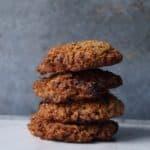 Sukkerfrie cookies med chokolade og kokos