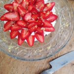 Sund jordbærtærte uden mel og raffineret sukker