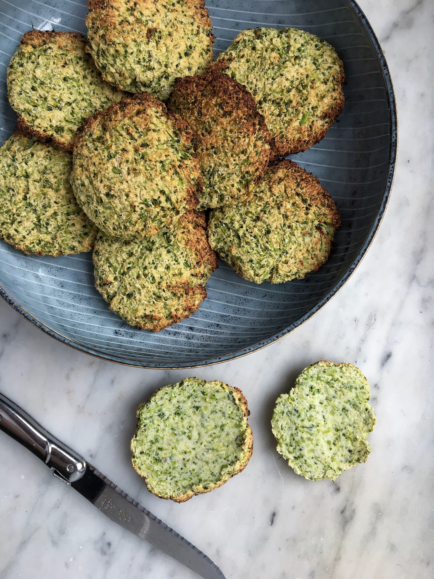 Broccoliboller uden mel