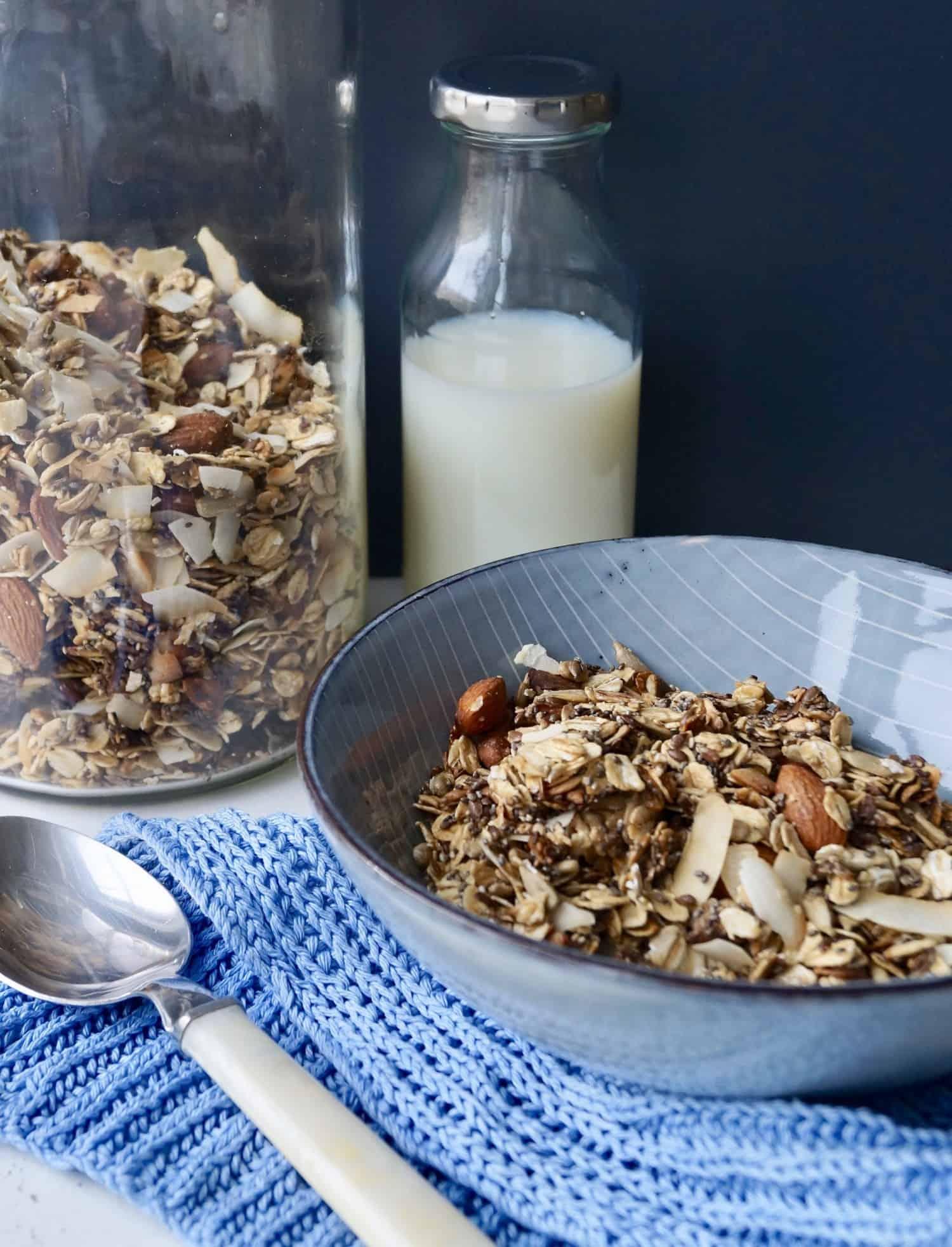 Sukkerfri mysli - hjemmelavet og sprød