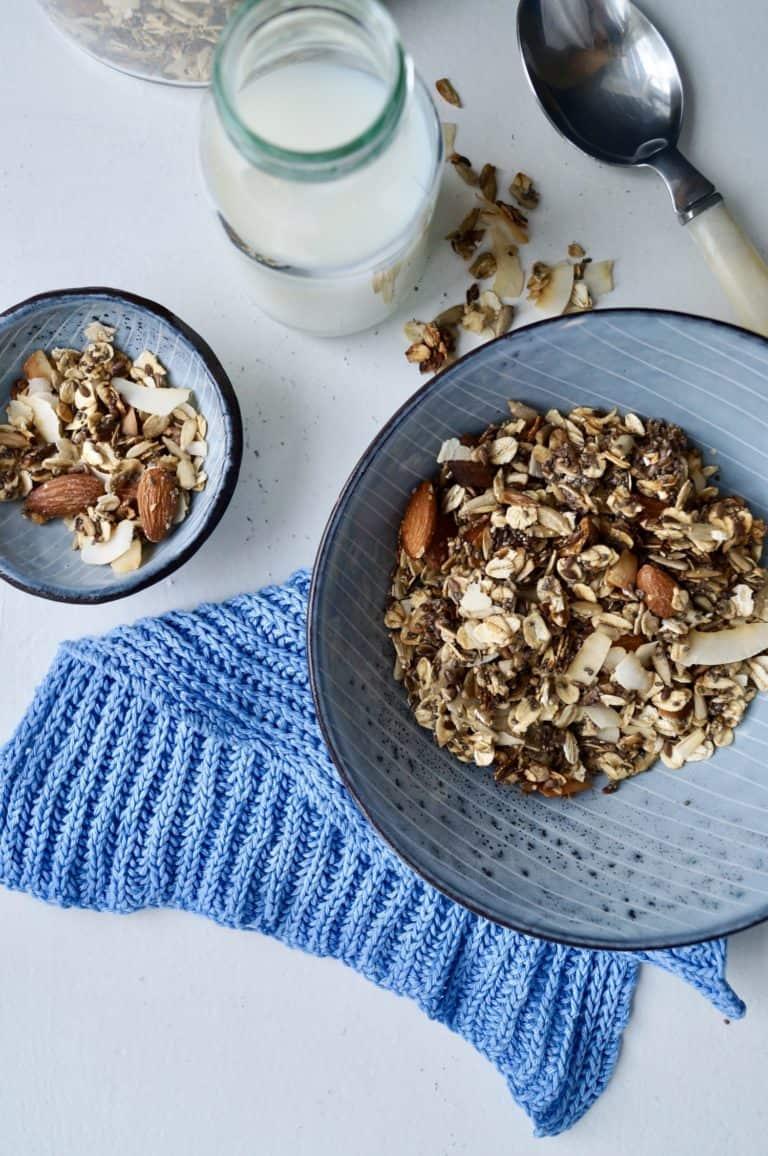 Sukkerfri müsli - hjemmelavet og sprød
