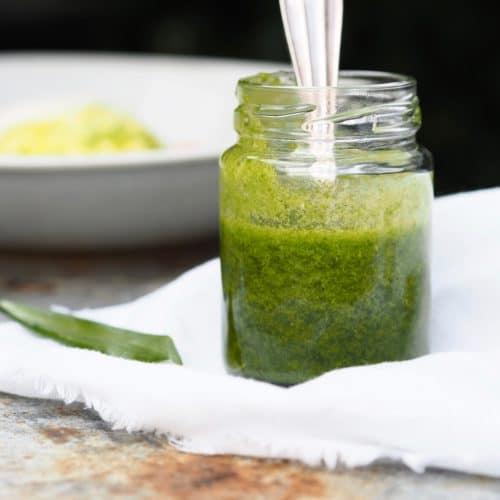 Ramsløgsolie - perfekt til brødet, salaten eller tapasbordet