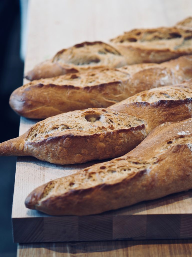 Strids Mølle: bageri og traktørsted