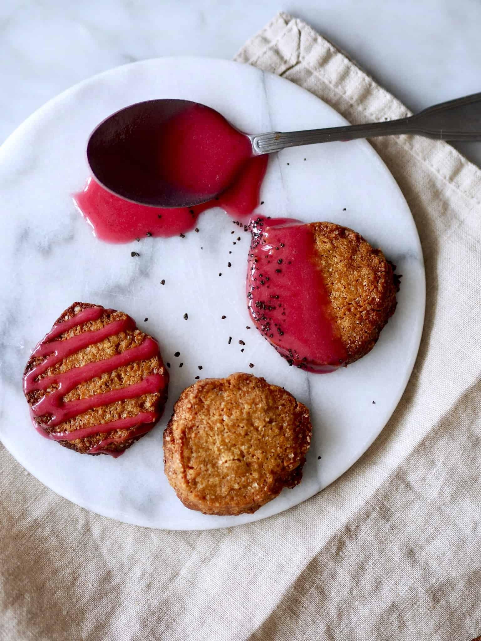 brunkager med lakrids