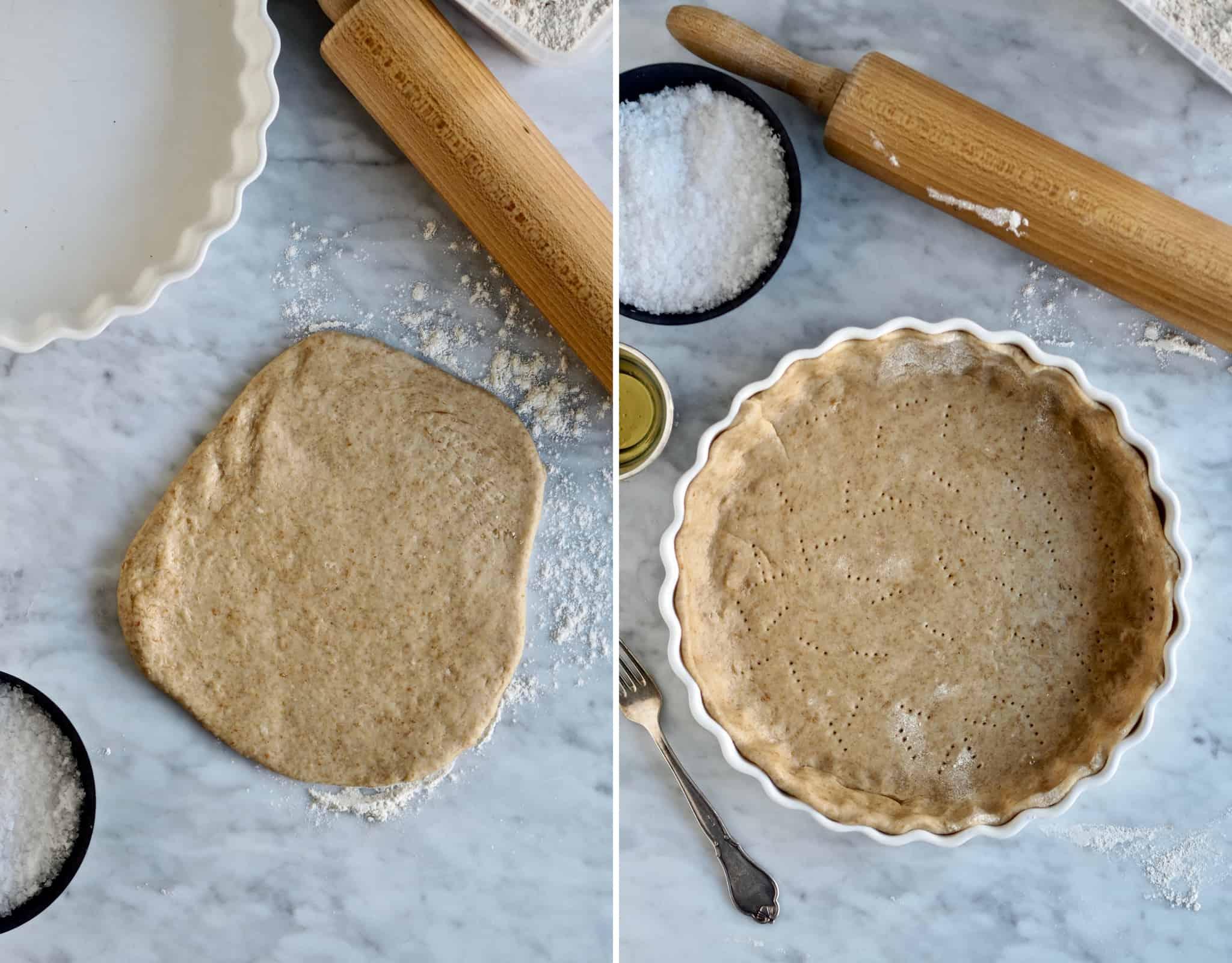 Hjemmelavet tærtedej
