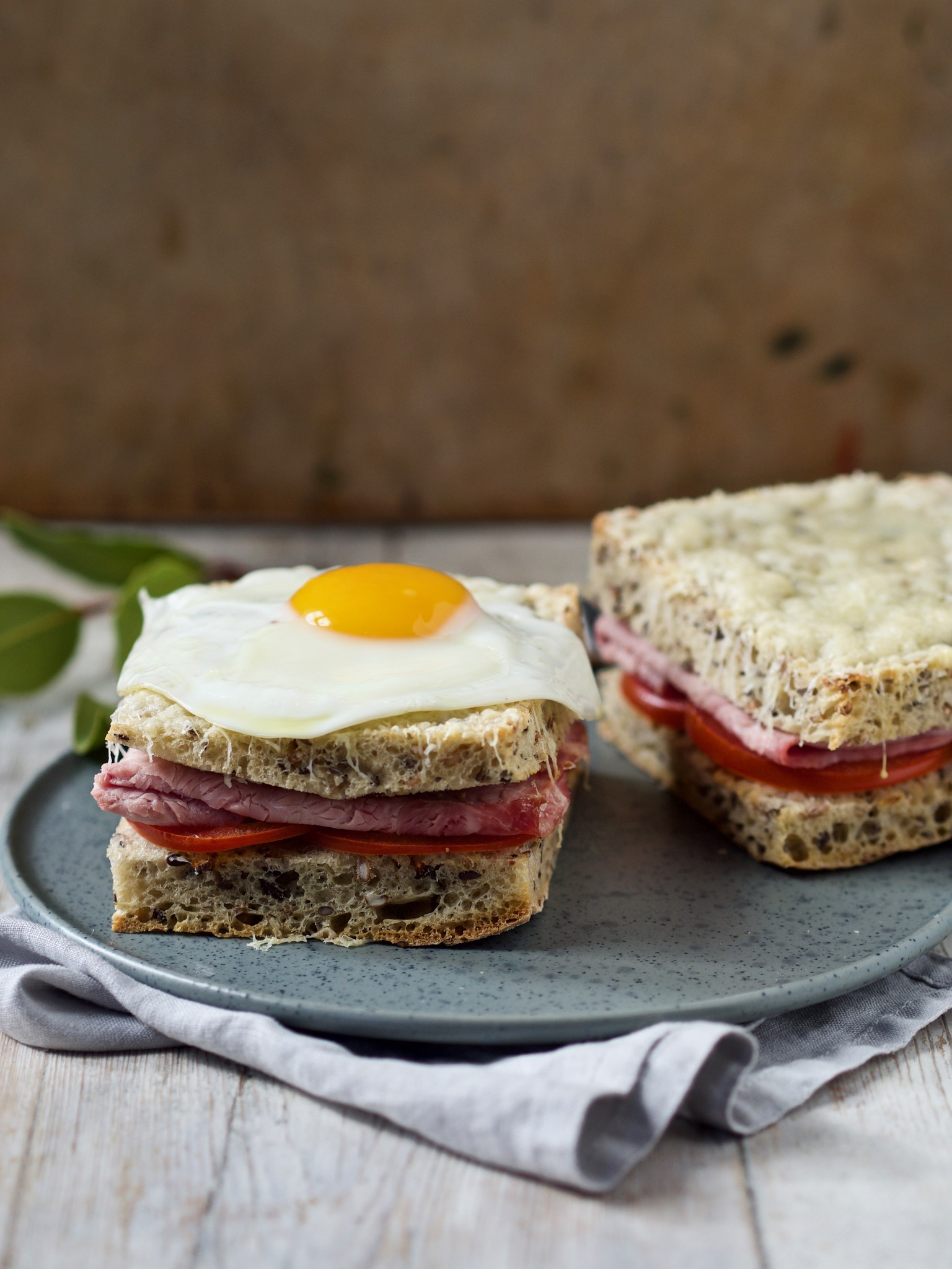 Croque monsieur og croque madame
