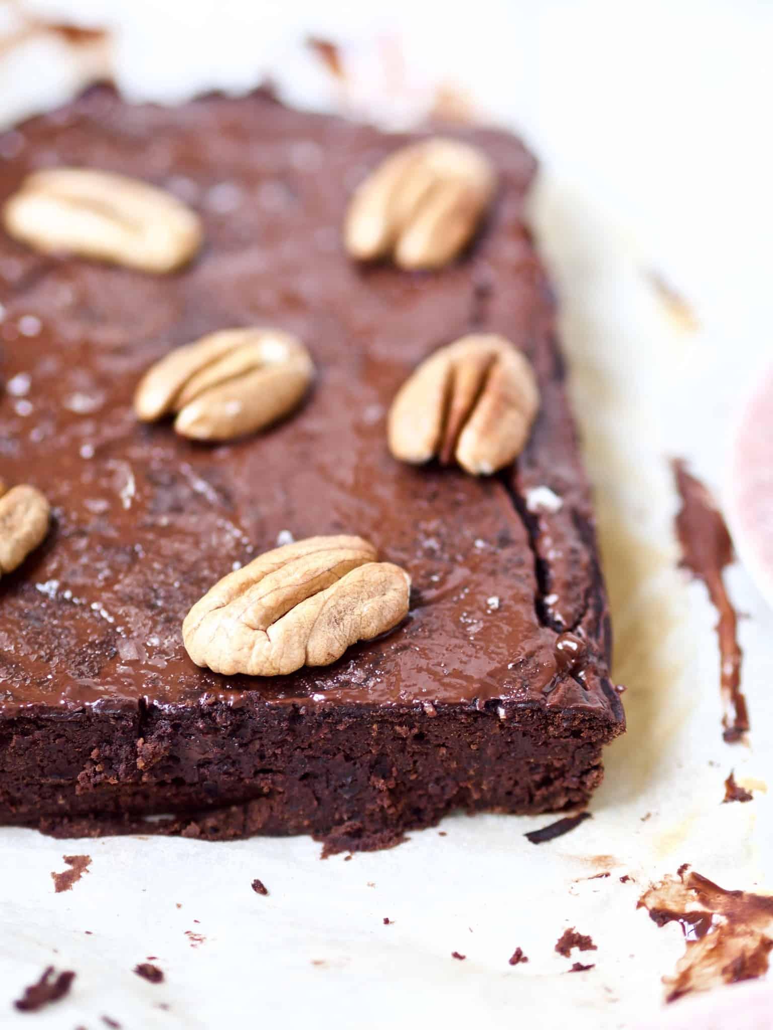 Bønnebrownie med chokolade