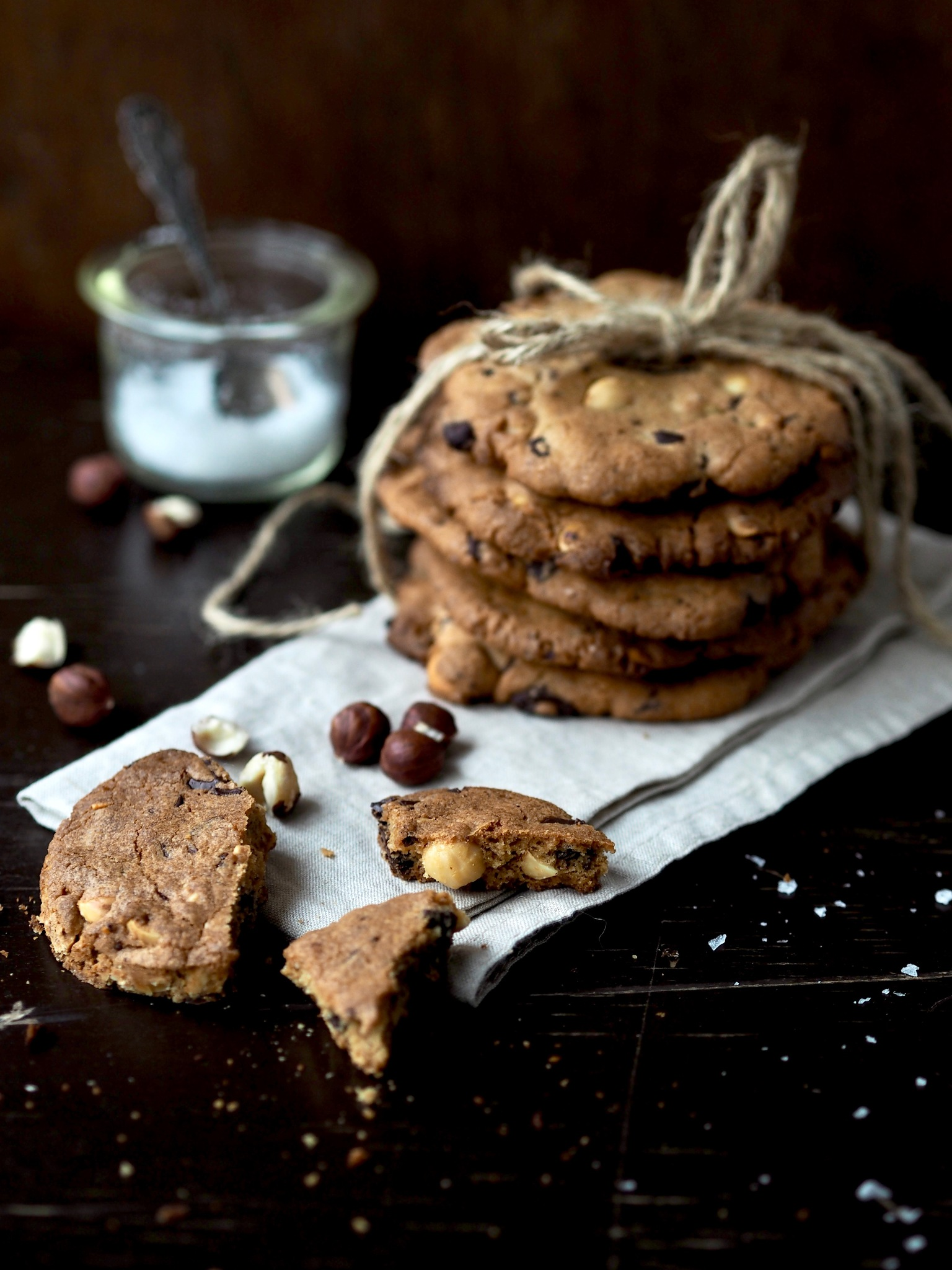 Cookies med nødder