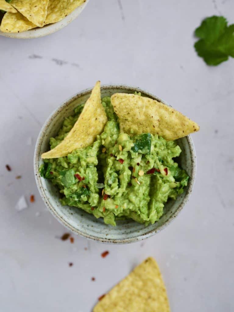 lækker og cremet Guacamole opskrift