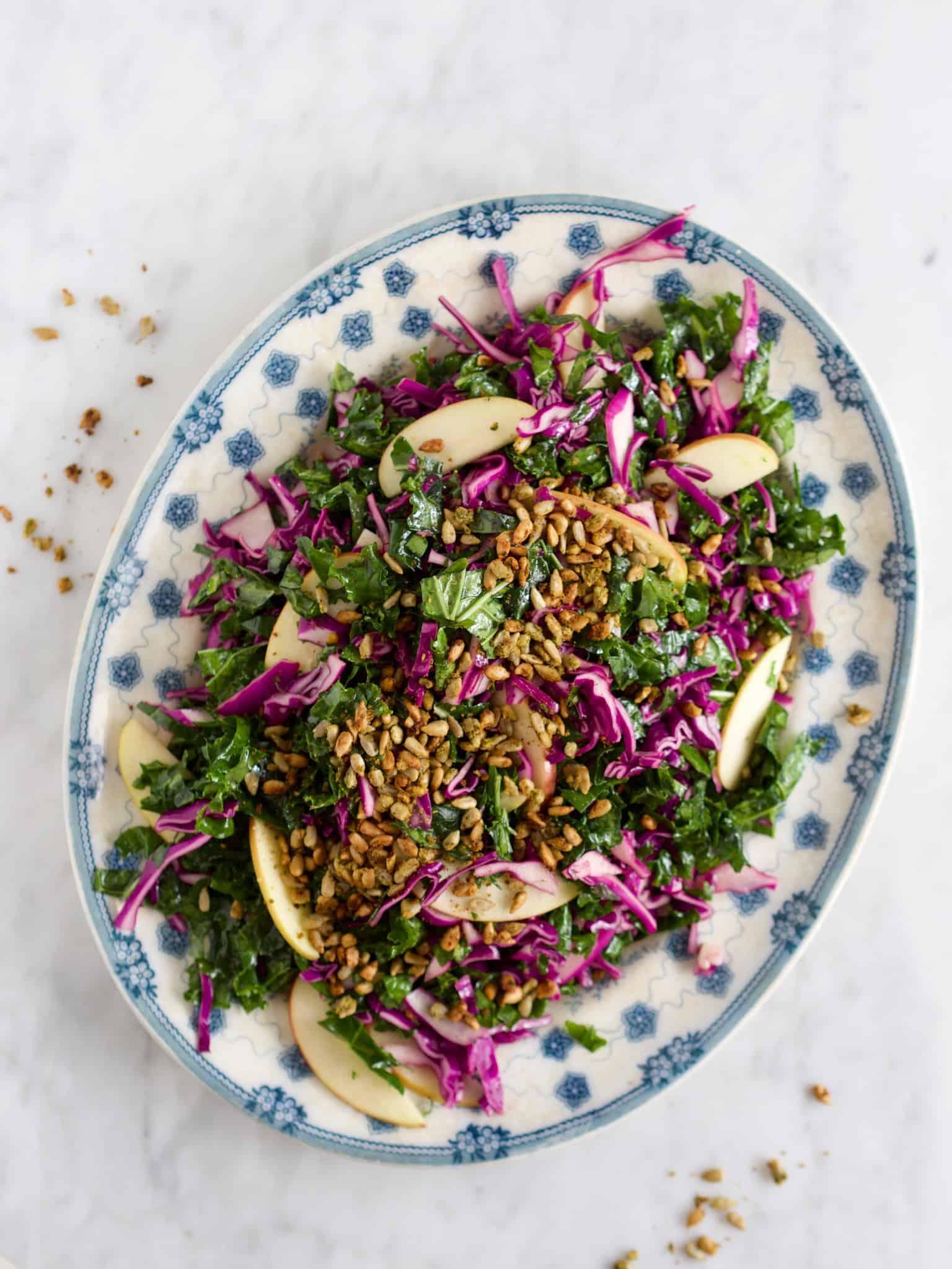 Salat med rødkål