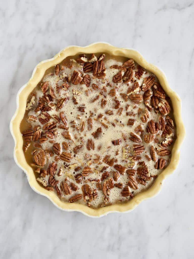 Pecan pie til thanksgiving