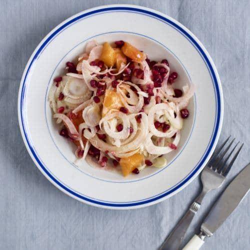 Opskrift på sprød salat fennikelsalat