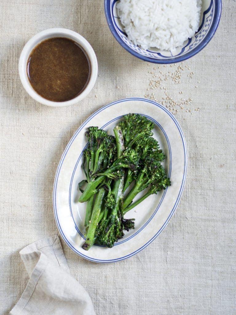 Opskrift på broccolini/Aspargesbroccoli