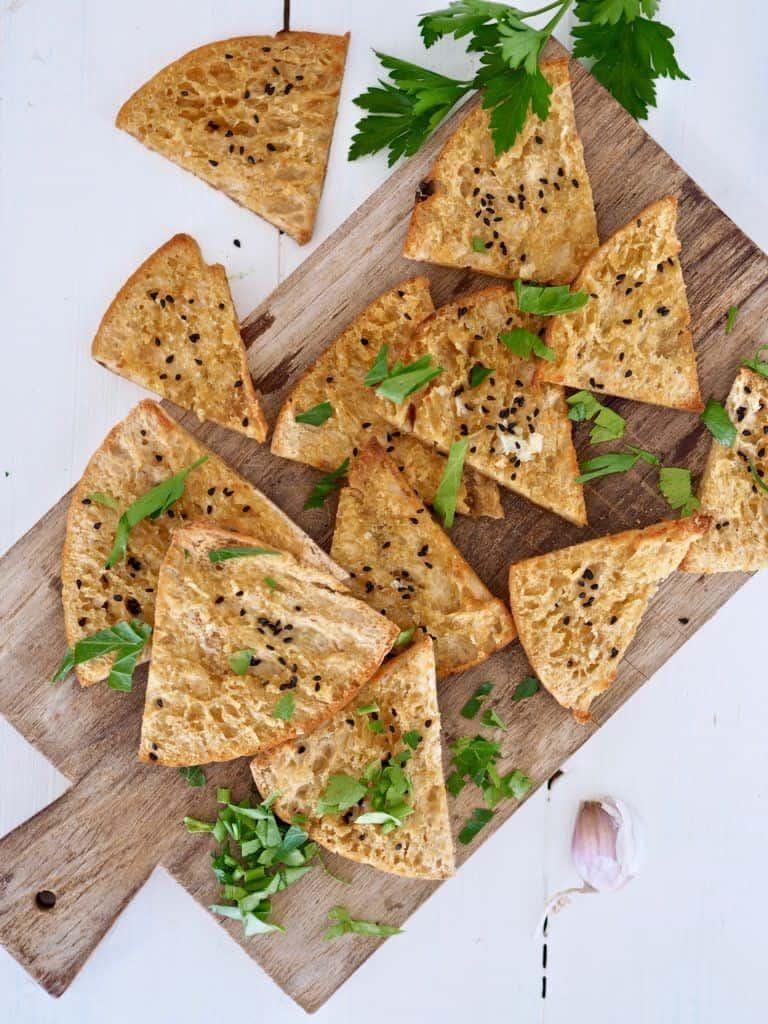 Opskrift på pita chips