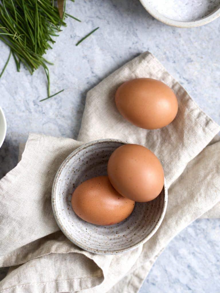 Ingredienser til Scrambled egg