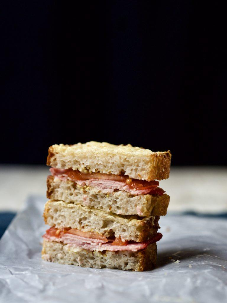 Lækkert toastbrød med fyld