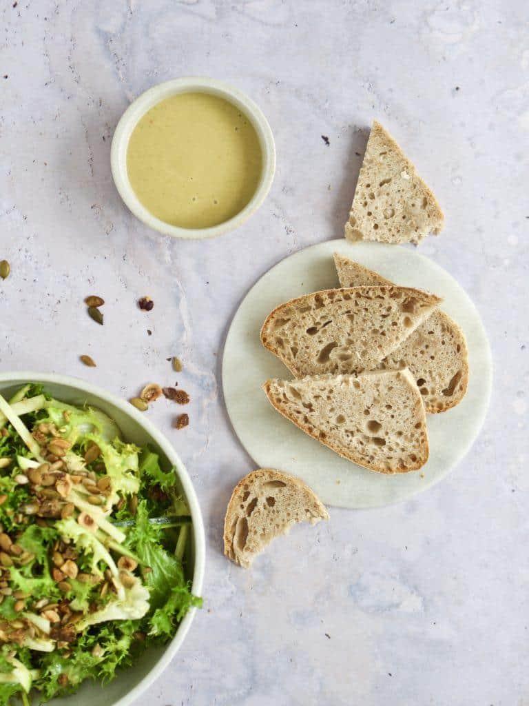 Tilbehør til grøn salat