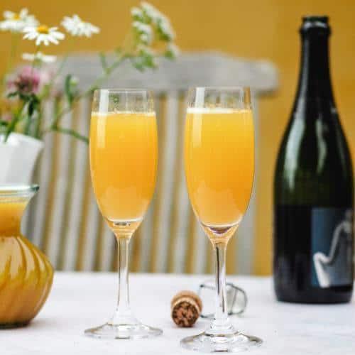 Mimosa cocktail til brunch