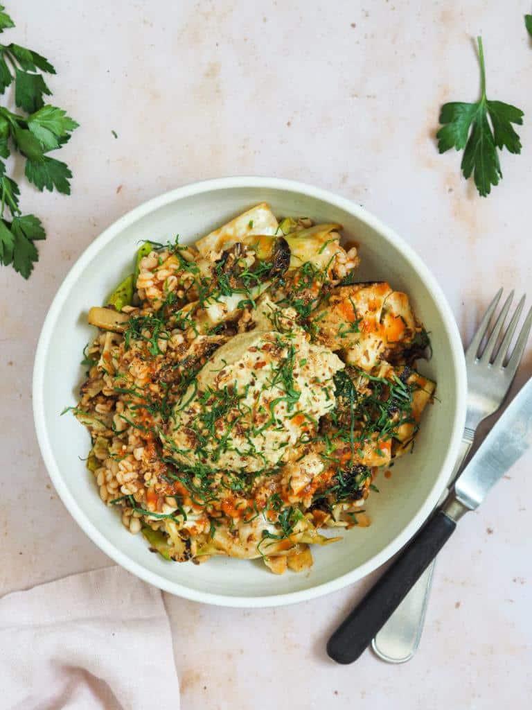 perlespelt salat