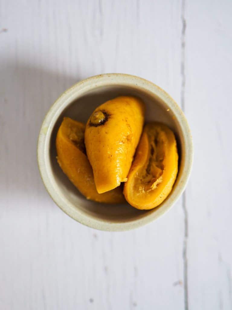 saltede citroner madlavning