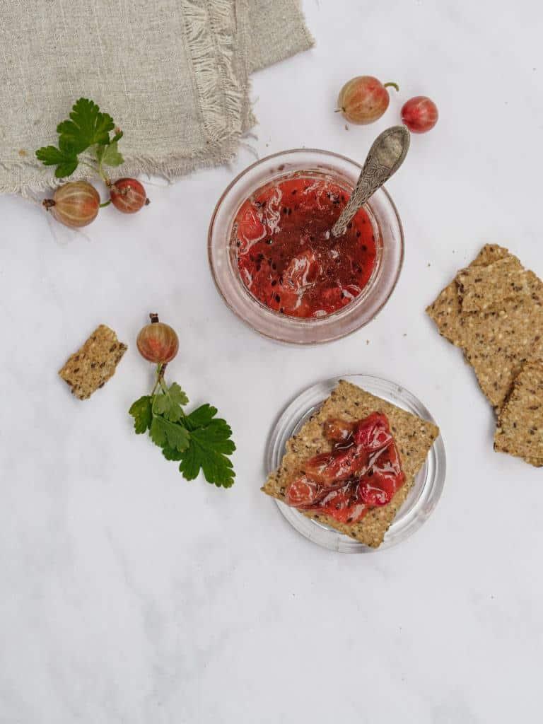 stikkelsbærmarmelade til ostebord