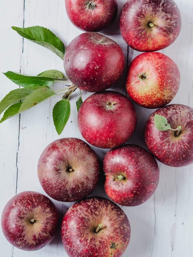 Æbler til æblecrumble
