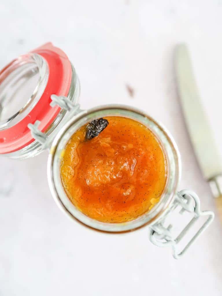 Appelsinmarmelade med vanilje