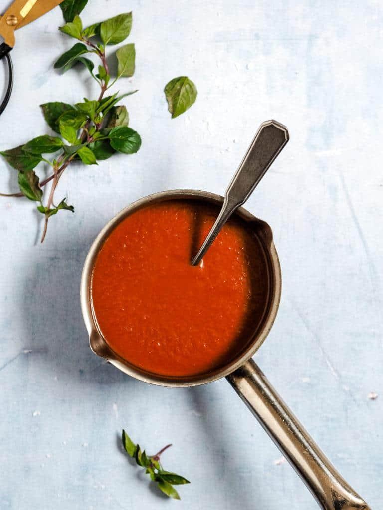 Tomatsauce på 5 min