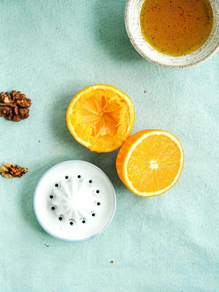 appelsiner til rødkålssalat