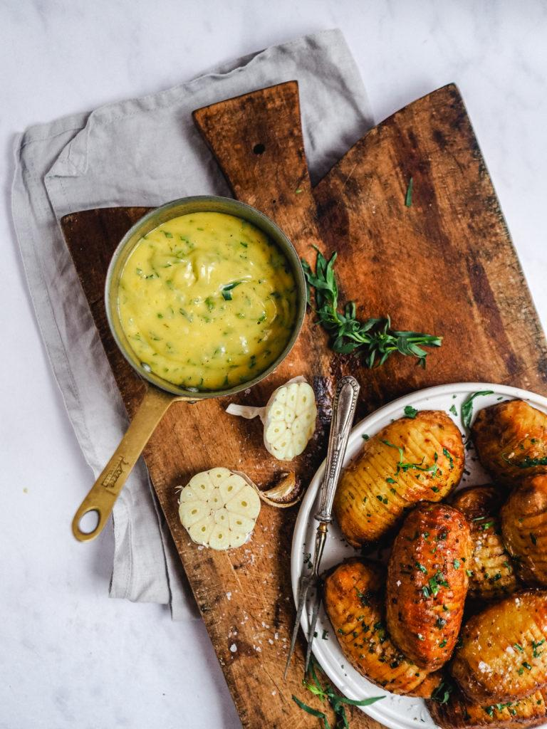 Bearnaise sauce til kartofler