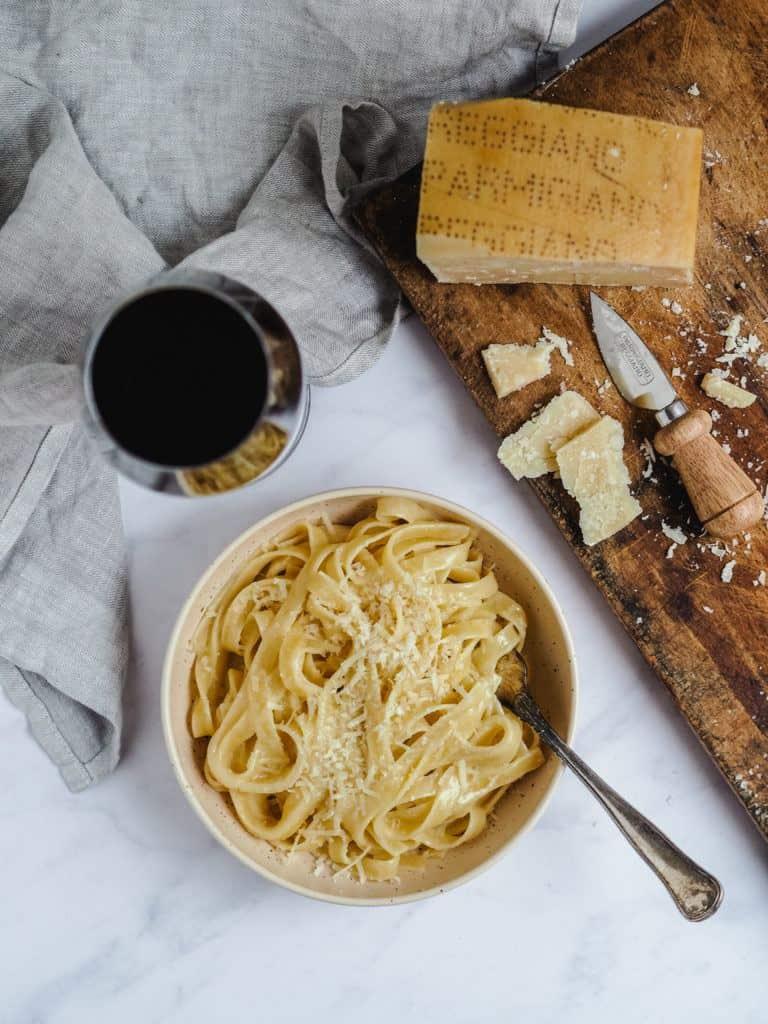 Original pasta Alfredo