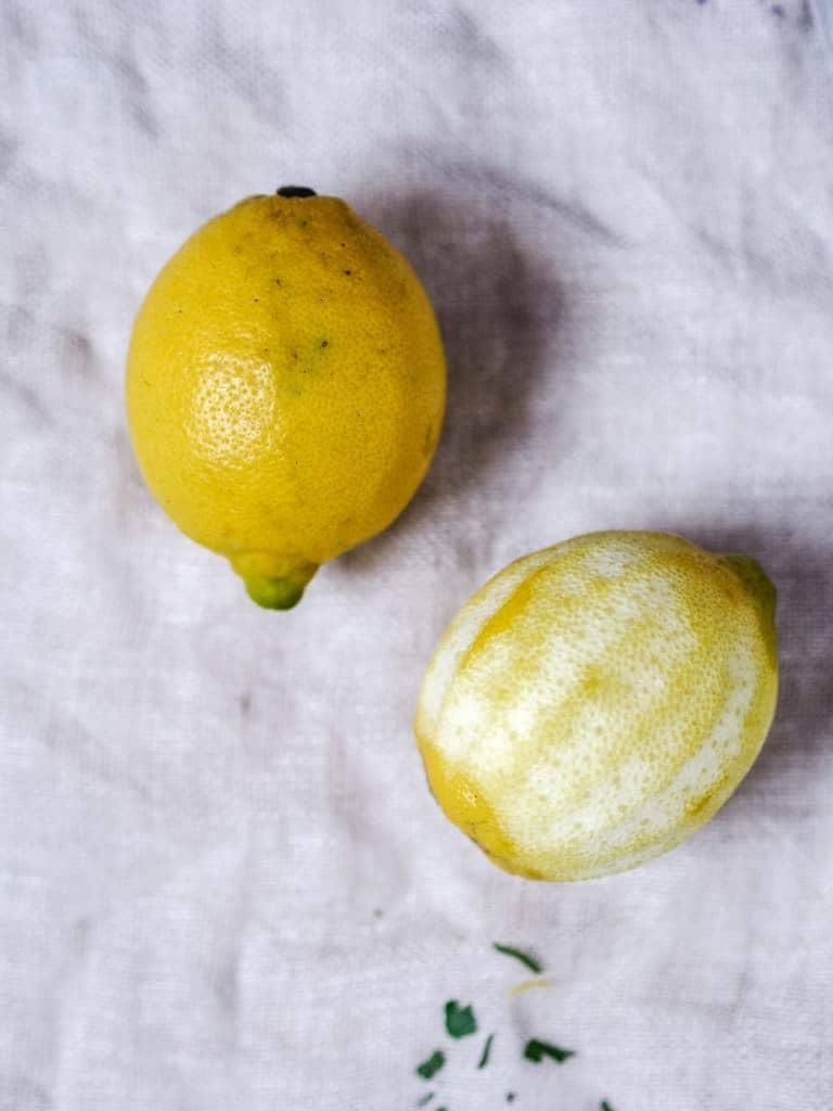 Gremolata med citronskal og urter