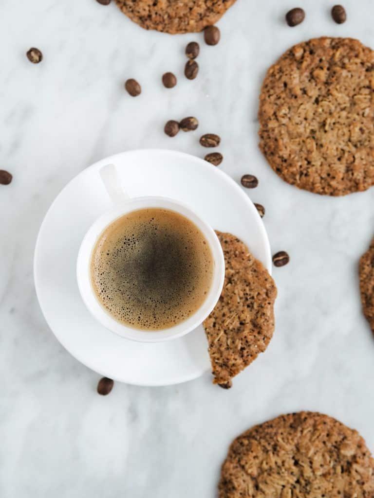 Kaffe cookies opskrift