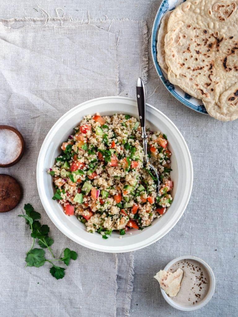 nem tabouleh salat med bulgur og citron dressing