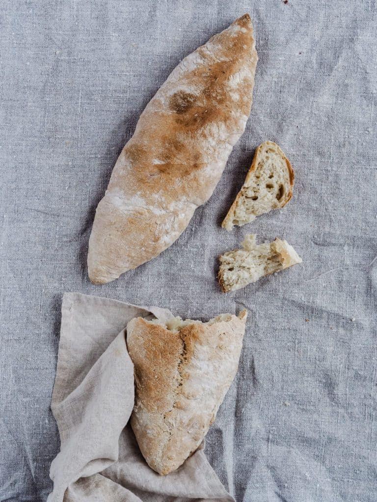 Manitoba brød med manitobahvedemel