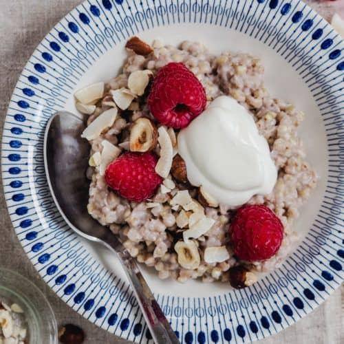boghvedegrød morgenmad