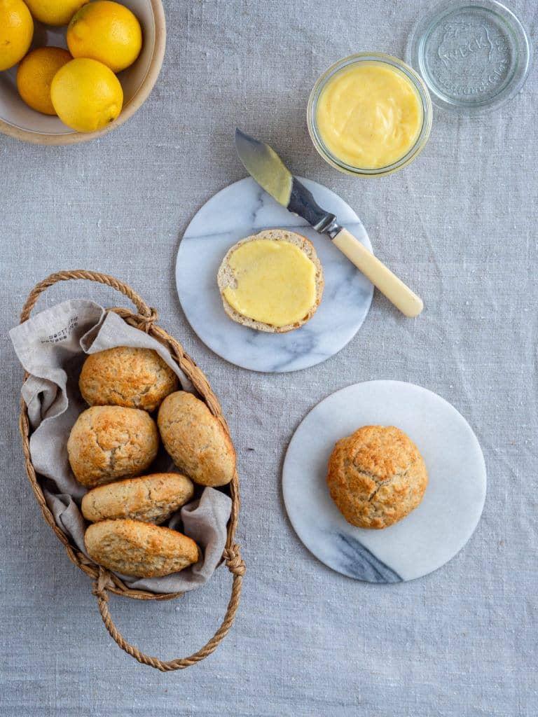 scones med kærnemælk