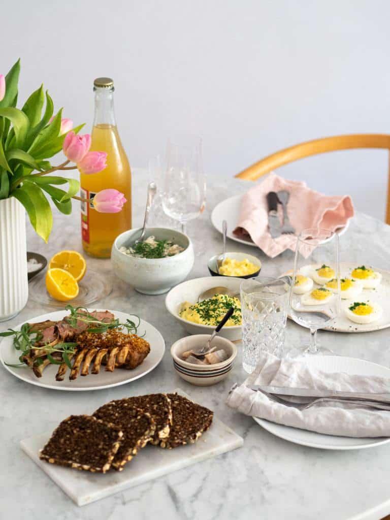 Påskefrokost retter - inspiration og opskrifter til påsken