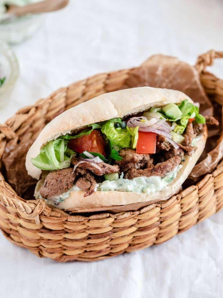 Pita kebab opskrift