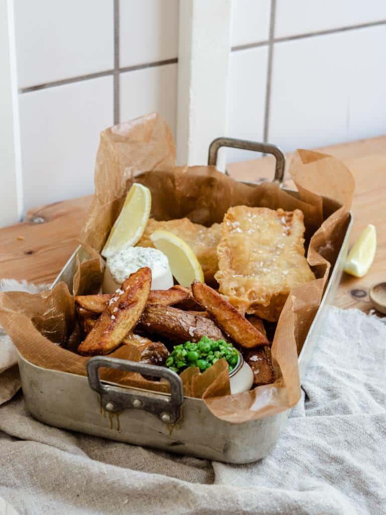 dej til fish and chips