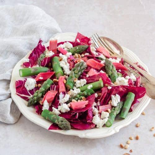 rabarber salat