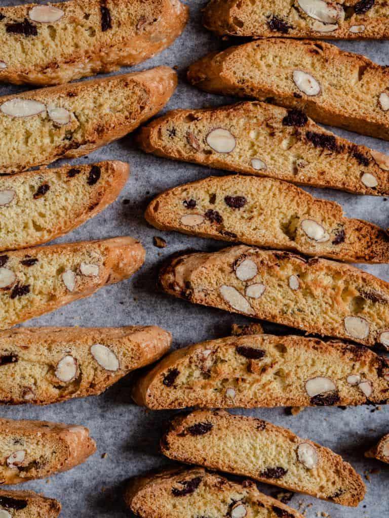 Biscotti med mandler