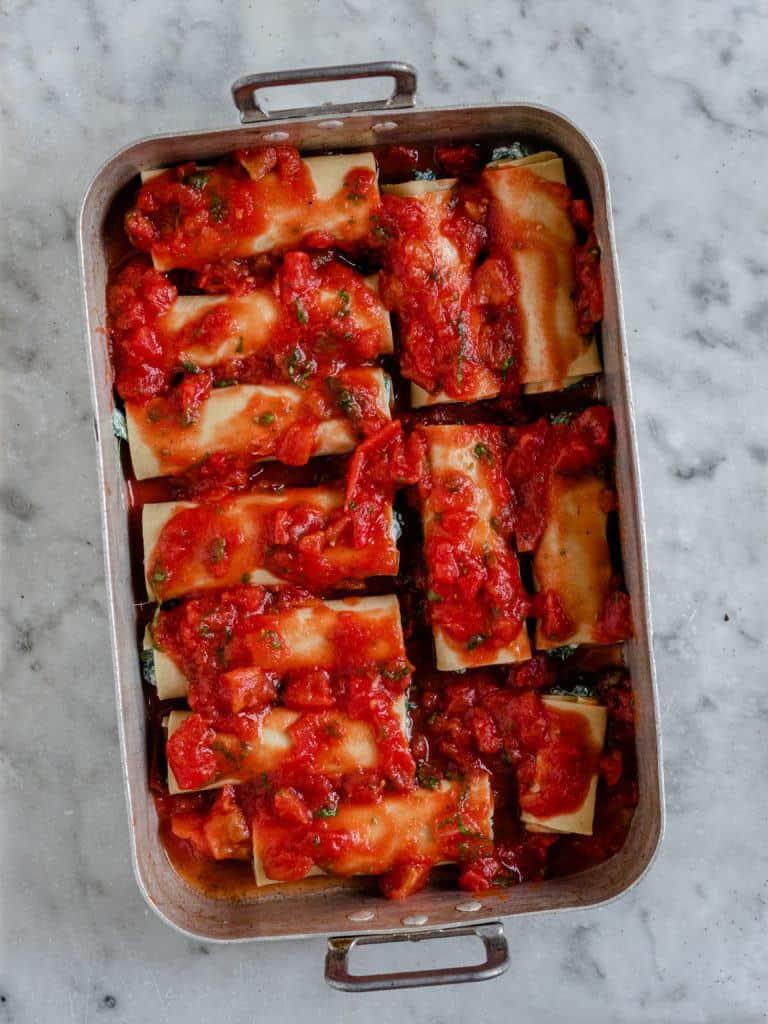Cannelloni rør
