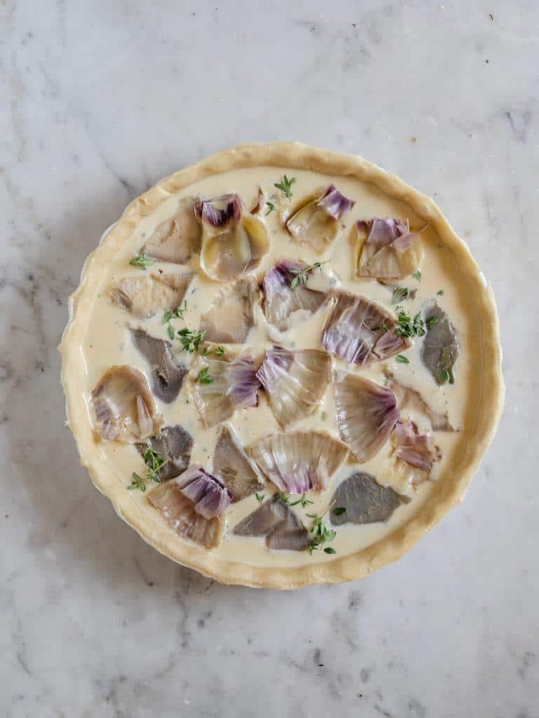Tærte med artiskokker