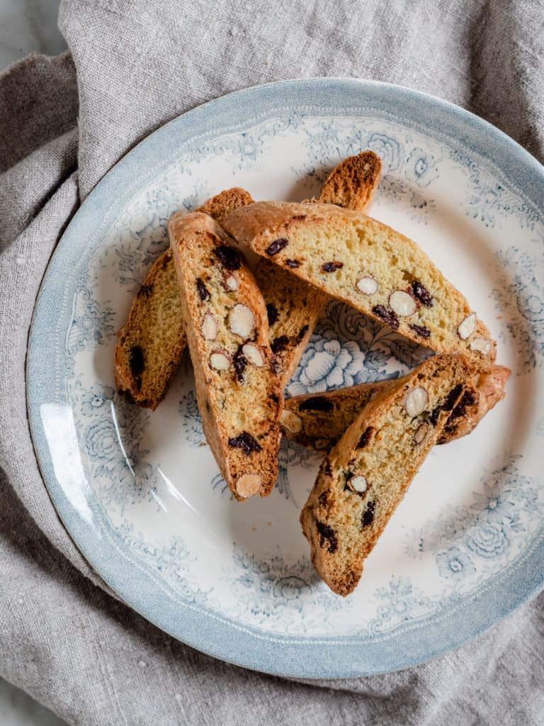 italienske biscotti med mandler