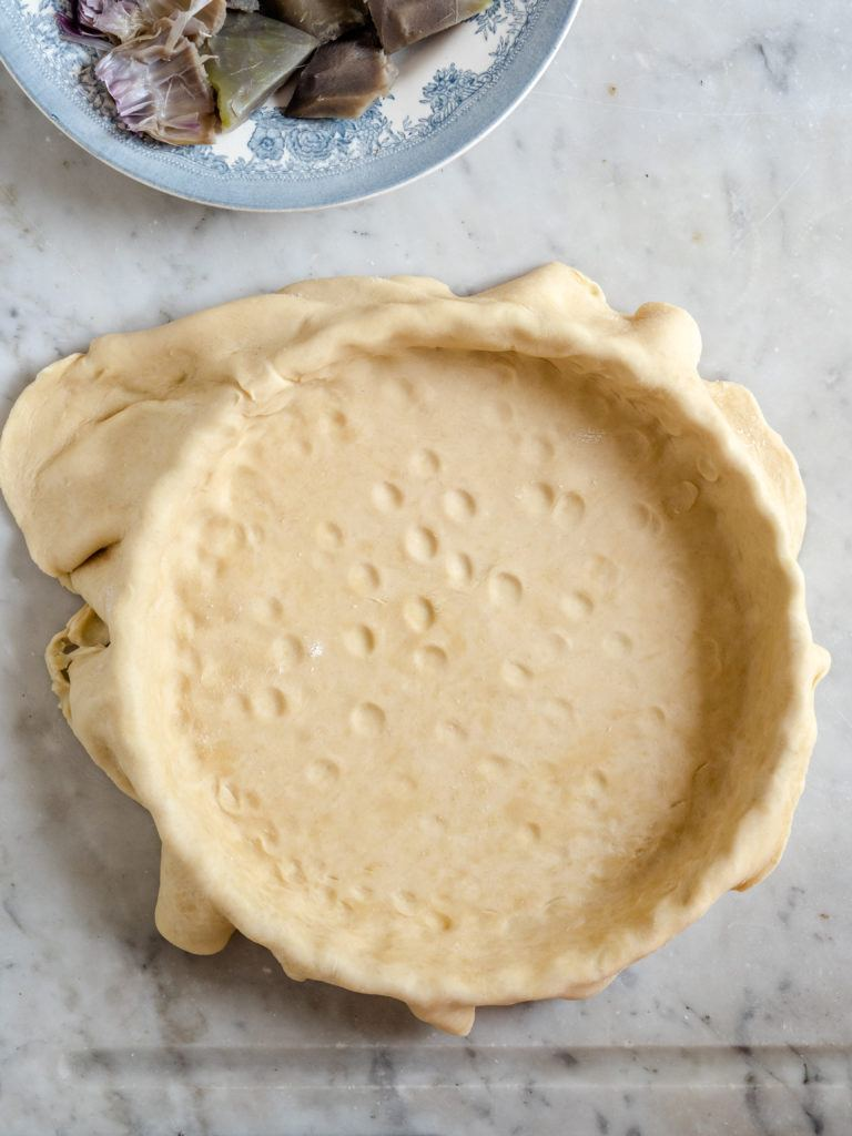 tærtedej med smør
