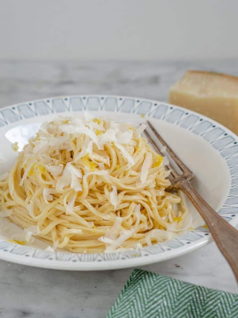 Opskrift på simpel citronpasta