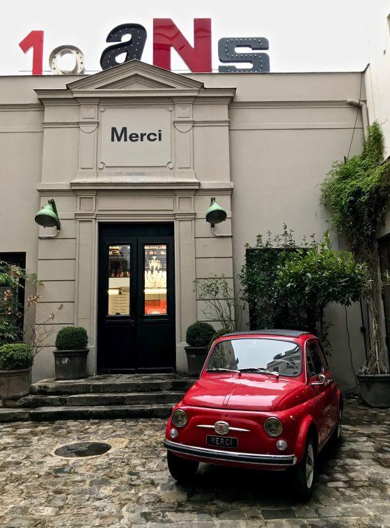 Merci butique Paris
